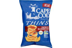 Cape Cod Potato Chips Thins Smokey Barbecue