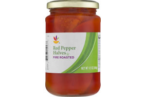 Ahold Red Pepper Halves Fire Roasted