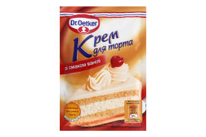 Крем для торта Ваниль Dr.Oetker м/у 50г
