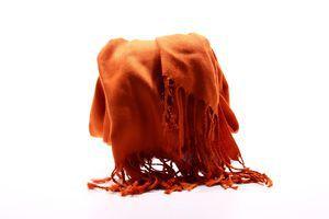 Палантин оранжевый №116200 SKY 1шт