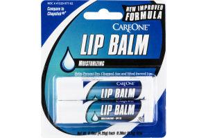 CareOne Lip Balm Moisturizing - 2 CT