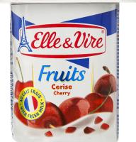Десерт молочний з вишнею Elle&Vire ст 125г