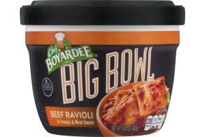 Chef Boyardee Big Bowl Beef Ravioli