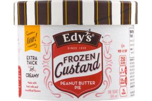 Edy's Frozen Custard Peanut Butter Pie