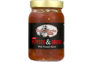 Uncle Charley's Sausage Co. Peppers & Onions With Tomato Sauce Hot