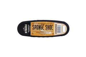 Губка для шкіряного взуття безкольорова Premium Blyskavka 1шт