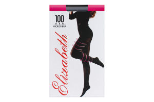 Колготки женские Elizabeth Microfibra 100den 2 nero