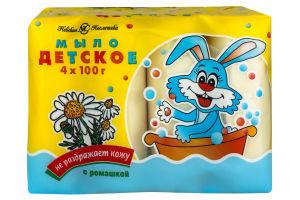 Мыло детское с ромашкой Невская косметика 400г