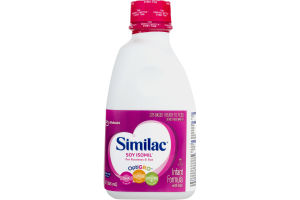 Similac Infant Formula with Iron Soy Isomil for Fussiness & Gas