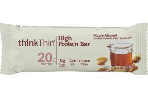 thinkThin High Protein Bar Maple Almond