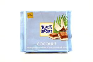 Шоколад Ritter Sport Coconut 100г x10