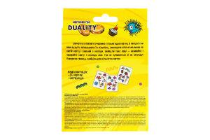 Игра карточная для детей от 6лет №30958 Duality Мир Лео 1шт