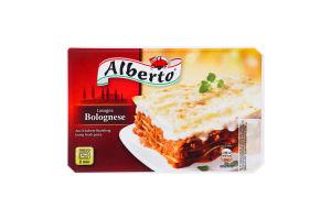 Лазанья замороженная с говядиной и свининой Bolognese Alberto к/у 400г
