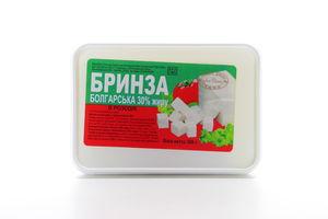 Брынза 30% болгарская Свет сыр лоток 300г