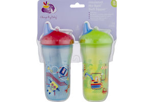 Always My Baby Insulated No-Spill Soft Sipper - 2 PK