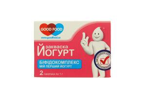 Закваска бактериальная Бифидокомплекс Good Food 2х1г