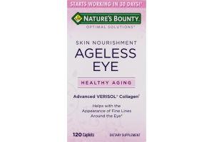 Nature's Bounty Skin Nourishment Ageless Eye Dietary Supplement - 120 CT