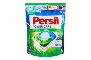 Средство моющее для стирки белых и светлых вещей в капсулах Power Caps Universal Deep Clean Persil 48х15г