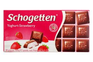 Шоколад мол.Полун.йогурт Trumpf 100г