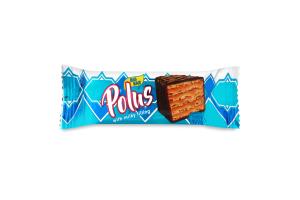 Торт вафельний глазурований з додаванням згущеного молока Polus м/у 60г