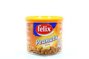 Арахис жареный в медовой глазури Felix ж/б 150г