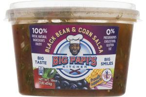Big Papi's Kitchen Salsa Black Bean & Corn