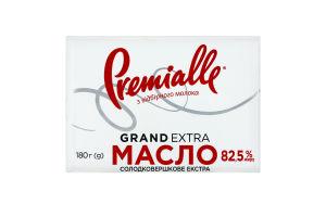 Масло 82.5% сладкосливочное Grand Extra Premialle м/у 180г