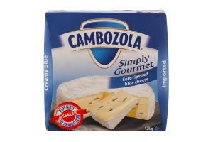 Сир 60% м'який Cambozola Kaserei Сhampignon к/у 125г