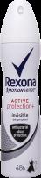 Rexona антиперс-нт 150 для_жінок Антибакт. та невидима на чорному та білому