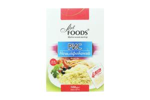 Рис нешлифованный Art Foods к/у 500г