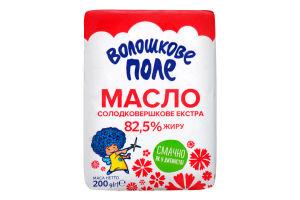 Масло селянське 82,5% 0,2 фольга