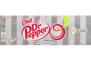 Diet Dr Pepper Cherry - 12 CT