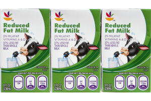 Ahold Reduced Fat Milk - 3 CT
