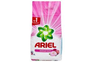 Порошок стиральный нежный пион Ariel 3кг