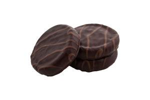 Печенье сахарное малиновое Шанталь Konti кг