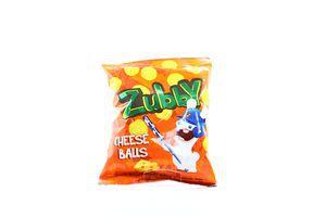 Кукурузные снеки cо вкусом сыра Cheese balls Zubby м/у 30г