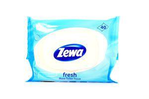 Бумага туалетная влажная Fresh Zewa 40шт