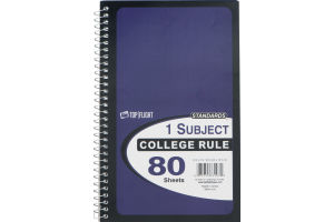 Standards 1 Subject College Rule Notebook - 80 Sheets