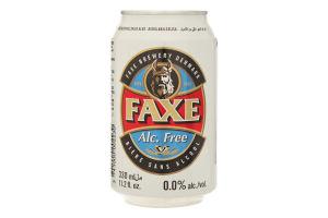 Пиво Faxe Free з/б 0.33л х24