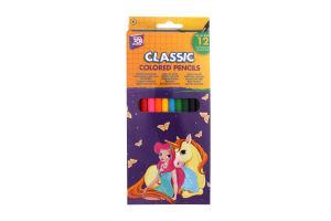 Олівці Fairy кольорові 12шт 15151
