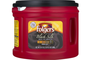 Folgers Ground Coffee Black Silk