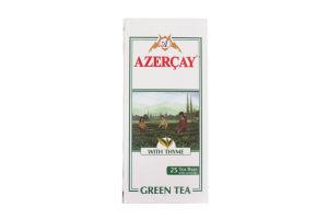 Чай зеленый с чабрецом Azercay к/у 25х2г