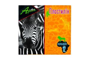 Пластилин для лепки 12 цветов Africa