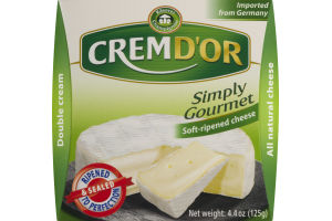 Kaserei Champignon Crem D'Or Simply Gourmet Soft-Ripened Cheese