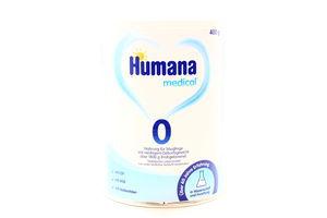 Суміш Humana medical 0 суха молочна 400г