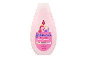 Дитячий кондиціонер для волосся JOHNSON'S® «Блискучі локони»