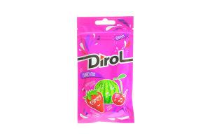 Жув.гумка Dirol Funky Mix асорті фрукт.-ягід. смаків 30г