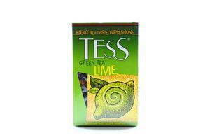 Чай Зеленый цедра лимона TESS к/у 100г