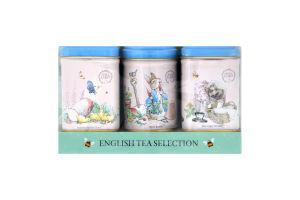 Набор чай черный Peter Rabbit Mini Tin 2*25г+20г