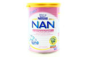 Смесь Комфорт с рождения Nestle NAN ж.б 400г